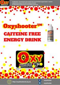 OxyShooter Natural Energy Drink with no caffeine or sugar Natural Energy Drinks, Caffeine, Immune System, Improve Yourself, Free, Sugar, Ebay, Twitter, Check
