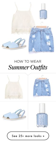 """""""Outfit"""" by bec-c on Polyvore featuring Swell, Glamorous, Essie, women's clothing, women's fashion, women, female, woman, misses and juniors"""