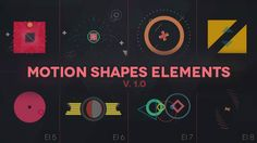 This package contains 300+ compositions ( 1000+ shape layers ) that will give an outstanding, beautiful and dynamic look to your motion video project.   You can use them separately for a specific ...