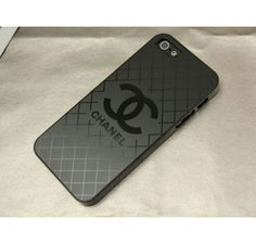 Metali Chanel iPhone 5 5S Case Black - Free Shipping Luxury Cases