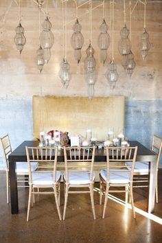 Table Decor Inspirations + Candle Lights
