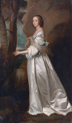 Portrait Of Lady Frances Cranfield Later Countess of Dorset by Sir Anthony van Dyck (Flemish, Anthony Van Dyck, Sir Anthony, Woman Painting, Painting & Drawing, Baroque Painting, Anton Van, 17th Century Fashion, Caravaggio, Art Uk