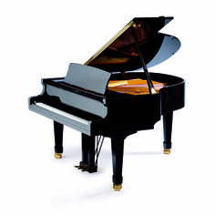 """Petrof 159 Bora - Although the P 159 (5'2"""") is the smallest model of the new generation Petrof grand pianos, it still possesses the characteristic warm European tone for which Petrof are rightly renowned. All Petrof grands feature a high quality, solid spruce soundboard. #MakinPianos  Passionate about Pianos since 1931"""