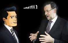 Todo contra el pueblo: Consejo de Rajoy a Peña Nieto