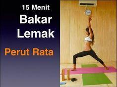 Senam Yoga 15 Menit Menguruskan Badan Dan Meratakan Perut Oleh Luisa Tu Abs Workout Routines Membakar Lemak Perut Senam