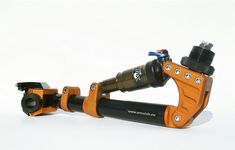 ARM-XR is a unique prosthetic arm developed for driving vehicles with a straight handle bar  - from ArmaLab