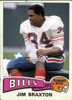 Jim Braxton Buffalo Bills