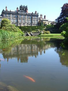 Biddulph Grange gardens in Biddulph, Staffordshire, England