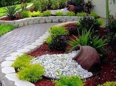 Stunning Rock Garden Landscaping Ideas 18