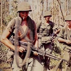 """soldiers-of-war: """" VIETNAM. American soldiers on patrol. Part of the Vietnam Slide Project, a collaborative photobook including pictures soldiers took themselves while overseas. The Vietnam. Vietnam History, Vietnam War Photos, South Vietnam, Vietnam Veterans, American War, American Soldiers, American History, My War, War Photography"""