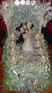 Disney Mickey and Minnie mouse wedding float  ! 1st place winner of the shoe box parade