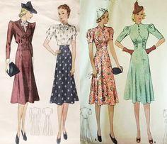 1930's women's suits