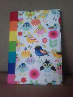 BIRD OF A RAINBOW notebook £10.00