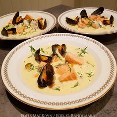 Edels Mat & Vin: Fiskesuppe med blåskjell ♥