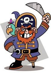 Need to print these out. Pirate coloring pages are favorites with kids of all ages - pirate crafts are great fun! Pirates coloring pages, printables and clip art are great. Pirate Day, Pirate Theme, Pirate Birthday, 5th Birthday, Pirate Clip Art, Pirate Coloring Pages, Pirate Activities, Pirate Crafts, Kid Crafts