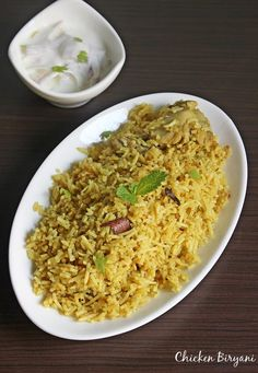 Muslim biryani - a generic recipe to make muslim mutton biryani or chicken biryani in south Indian style, one that is served in weddings & gatherings