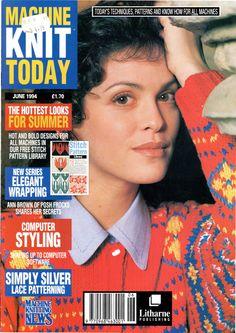 Machine Knit Today Magazine 1994.06 Free PDF Download 300dpi ClearScan OCR