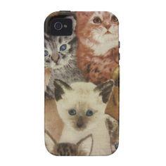 Kittens Cell Phone Cases
