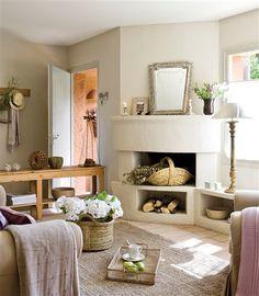 Para tener un salón acogedor y con estilo no es necesario que sea grande. Pincha en la imagen y verás algunos ejemplos de salones pequeños que te enamorarán.