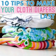 Daily Mom » 10 Tips To Make Your Cloth Diapers Last