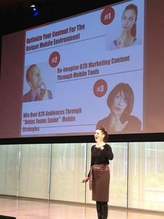 """Is mobile on your mind? Christina """"CK"""" Kerley tells marketers to """"re-imagine B2B marketing content through mobile tools."""" #B2BContentEvent"""