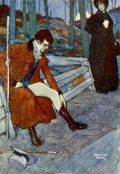 Edmund Dulac - 1904c - Jane Eyre by Charlotte Bronte