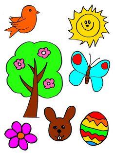 Rocni obdobi - vystrihni, spravne prirad a nalep Spring Activities, Art Activities, Light Table, Preschool, Clip Art, Jar, Teaching, Education, Weather