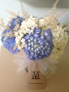 Hydrangeas Centrepieces, Wedding Centerpieces, Hydrangea Varieties, Wedding Events, Wedding Ideas, Different Types Of Flowers, Simple Gifts, Floral Designs, Hydrangeas