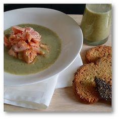 Foodie Mum: Pan Fried Salmon & Broccoli Soup