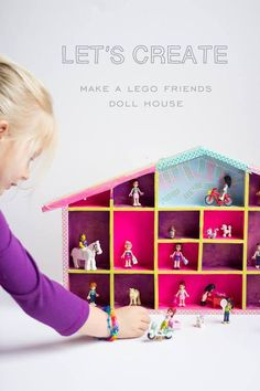 You'll love this kid-approved afternoon craft project. Such a sweet way to store and display LEGO minifigures!