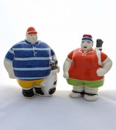 Golfer Figurine forms part of the Potbelly Underglaze Collection being sold online by Mr. Golfer Figurine is handmade in South Africa.