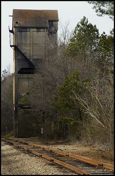 Coaling tower at Raymond, GA.
