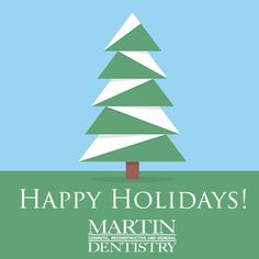 Happy Holidays from Anthony Martin Dentistry!