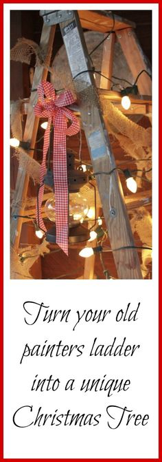 Christmas Decorating on a Budget Idea ~~ Creative Cain Cabin