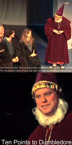Starkid challange day My favorite avpm/avps character is Dumbledore. <<< Mine is Draco Harry Potter Musical, Harry Potter Jokes, Harry Potter Fandom, Avpm, Team Starkid, 10 Points, Darren Criss, Mischief Managed, Totally Awesome