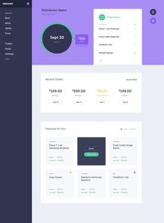 Dribbble - dashboard.png by Ryan Clark