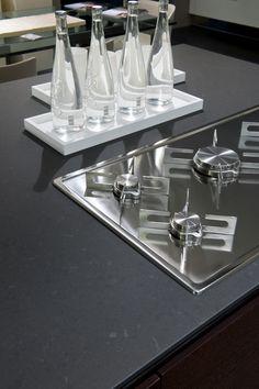 JUMAquarz Küchenarbeitsplatte aus Quarzkomposit.