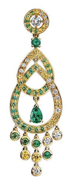 Boucheron drop #earrings
