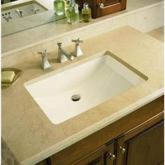 KOHLER Ladena Undermount Bathroom Sink with Glazed Underside in White-K-2214-G-0 at The Home Depot $264