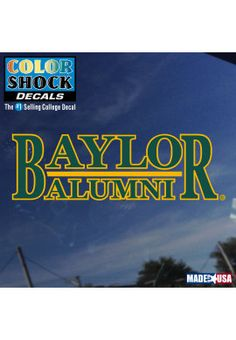 Product: Baylor University Alumni Decal