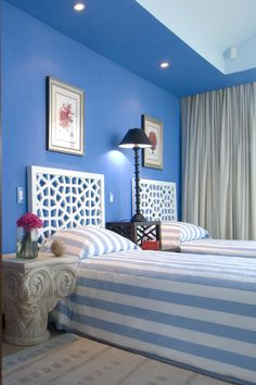 This Bedroom Designed By Jerry Jacobs Create A Relaxing Atmosphere
