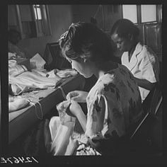 Title: Members of P.R.R.A. (Puerto Rico Resettlement Administration) needlework cooperative at work. San Juan, Puerto Rico Creator(s): Rosskam, Edwin, 1903-, photographer Date Created/Published: 1938 Jan.