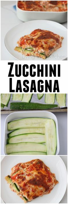 Zucchini Lasagna from @memeinge is a fresh, summer take on a comfort food classic. It's packed with veggies, gluten-free, and super tasty
