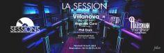 La Session Opening with Villanova - Marcelo Cura - Phil Dark - Emmanuel Russ at Club Haussmann
