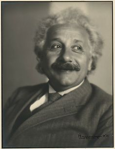Albert Einstein by Johan Hagemeyer