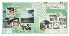 One Week in Paradise Paradiso by Kaisercraft General Crafts, Craft Items, Mini Albums, Paradise, Projects To Try, Gallery Wall, Lay Outs, Scrapbooking, 4 Life