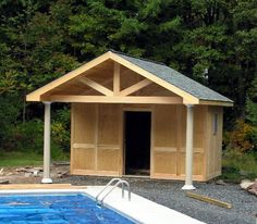 images of pool houses | POOL HOUSE
