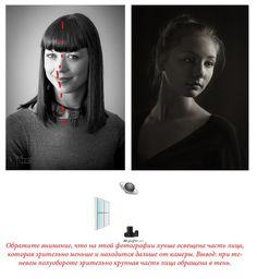 ТЕНЕВОЙ ПОЛУОБРОТ. Это тип освещения, при применении которого большая часть лица модели, направленная на фотокамеру, располагается в тени, тип освещения, противоположный световому полуобороту. И даже не смотря на это, фотография все равно кажется объемной. Такой тип освещения часто применяют для фотографий в «низком ключе».