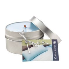 6 Ounce Scented Soy Travel Candle In Tin Candles Best Smelling