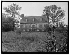 """Before Restoration, Rolfe House/Warren House/Smith's Fort Plantation. The name """"Smith's Fort Plantation"""" come from that John Smith began constructed a fort here in 1608. A House was built in 1652. The current house was built sometime between 1725 and 1750 by Thomas Warren who got the land from Thomas Rolfe"""